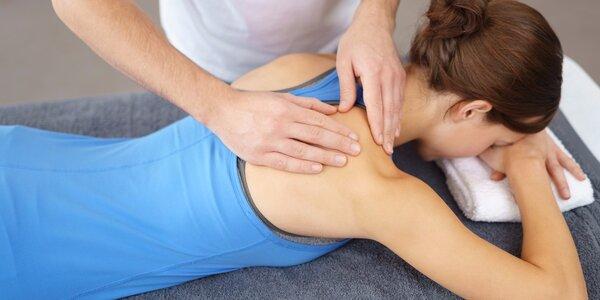 Masáž proti bolesti a únavě pohybového aparátu