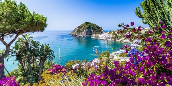 Dovolená na italském ostrově Ischia s polopenzí