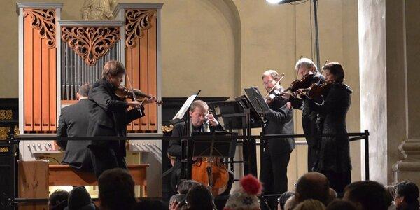 Letní varhanní koncerty v kostele v srdci Prahy