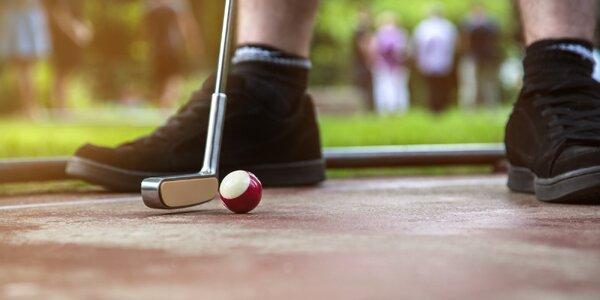 Probuďte v sobě soutěžního ducha: Golf turnaj