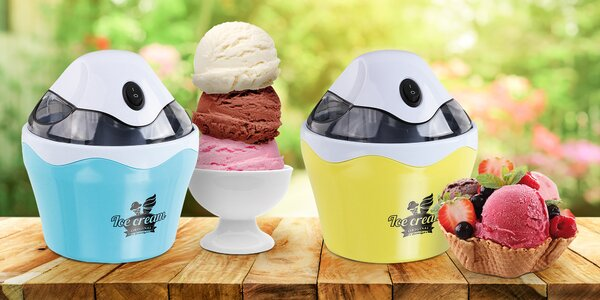 Zmrzlinovač Domoclip pro vytvoření 500 ml zmrzliny