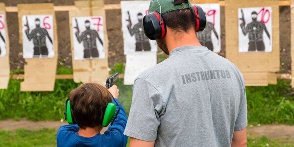 Střelecké balíčky pro děti i partu
