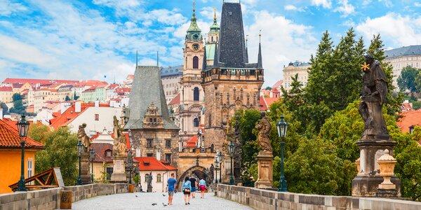 2-3 dny v Praze pro 2: snídaně a poukaz na večeři