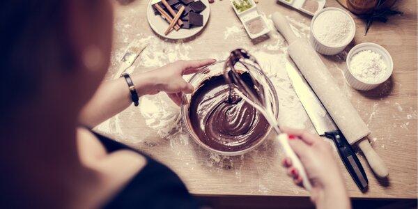 Kurz výroby čokolády a čokoládových pamlsků