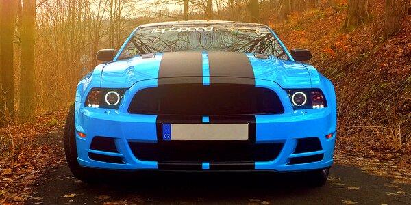 Zážitková jízda ve sporťáku Mustang GT 5.0