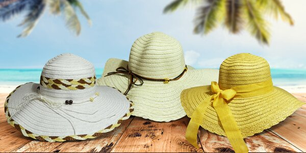 Elegantní dámské klobouky na léto