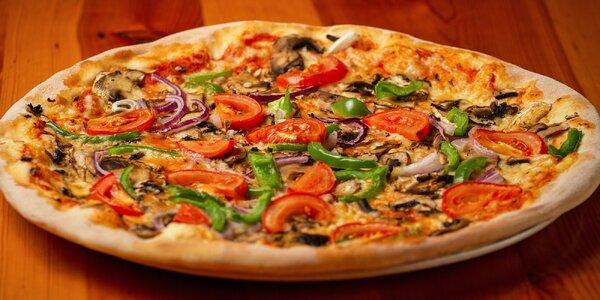 Pizza a nealko nápoj pro 1 nebo 2 osoby