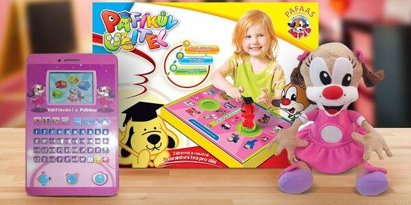 Výběr hraček od Pafíka: mluvící karty i tablet