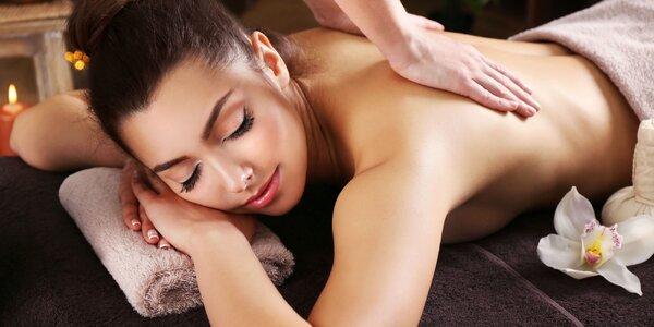 Letní balíčky pro dámy: masáž, lázeň i maska
