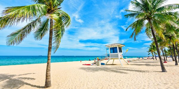 Žhavé léto v zimě: Floridský ráj na Miami Beach