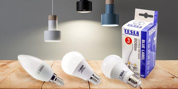 LED žárovky Tesla: rozsviťte domácnost úsporně