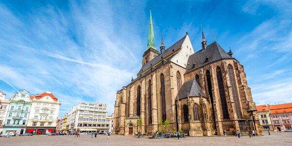 Léto v Plzni: 3 nebo 5 dní pro pár i rodinu