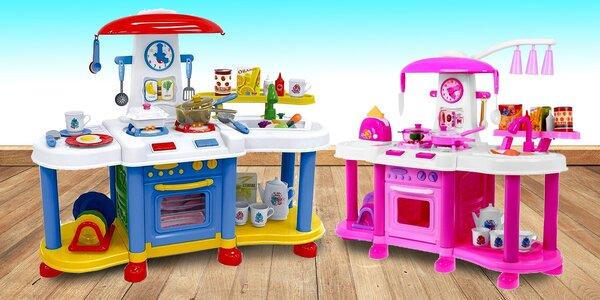 Velké dětské kuchyňky na hraní a doplňky k nim