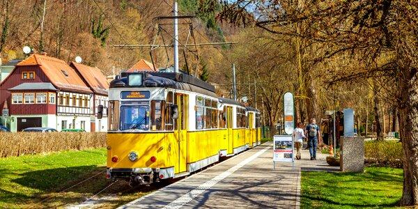 Saské Švýcarsko vč. jízdy historickou tramvají