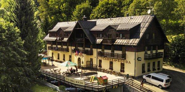 Pohodová dovolená ve Špindlu s jídlem a wellness