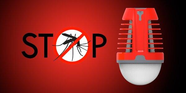 Elektrické lapače hmyzu ven i do interiérů