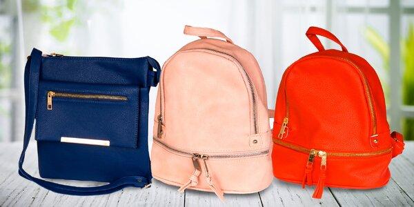 Dámské kabelky a batůžky z koženky