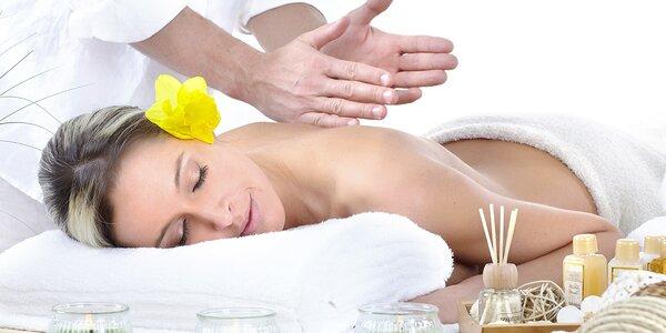 45 minutová relaxační masáž dle výběru