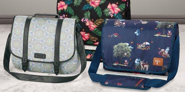 Tašky přes rameno zn. Dakine: 10 barev a stylů