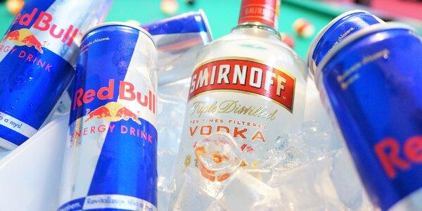 Party loď ve Sborovně: litr vodky a Red Bully
