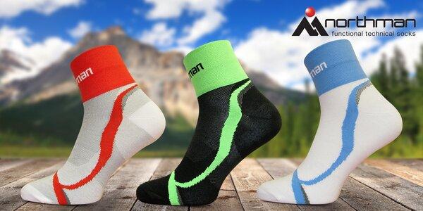 Funkční sportovní ponožky české značky Northman