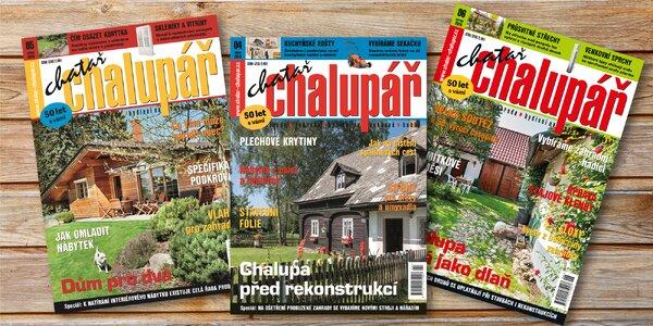 Roční předplatné časopisu Chatař chalupář