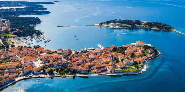 5-7 nocí v apartmánech na Istrii přímo u pláže