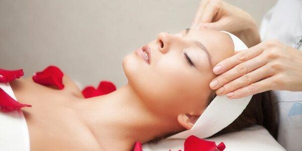 Hodinové kosmetické ošetření pleti vč. masáže