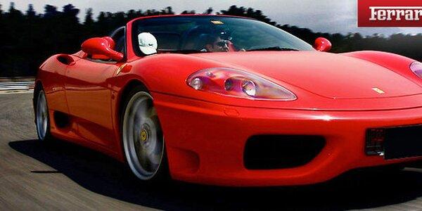 Zážitková jízda ve Ferrari F360 po dálnici