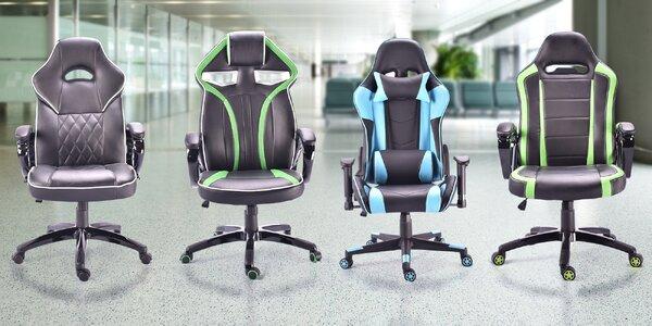 Polohovatelné kancelářské židle s nosností 150 kg