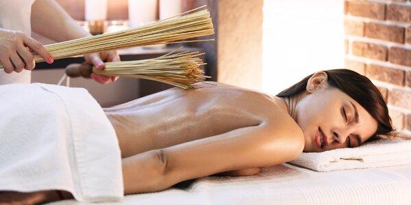 Relax s peelingem a samurajskou i tantra masáží