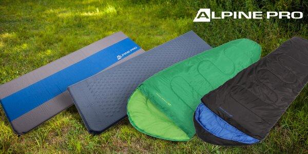 Spací pytle a samonafukovací karimatky Alpine Pro
