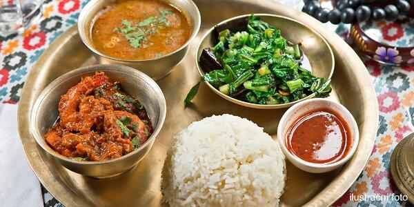 Dárkový voucher do indické a nepálské restaurace