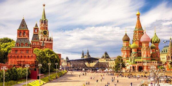 3 noci v Moskvě: letecký poznávací zájezd