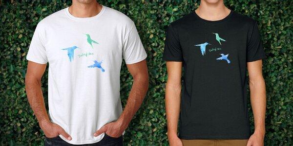 Podpořte Klokánek: designová pánská trička