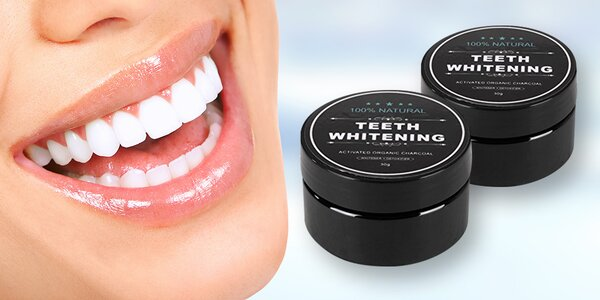 Bělicí prášek na zuby Teeth Whitening