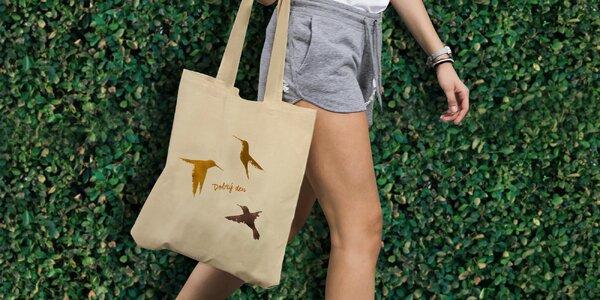 Podpořte centra Klokánek koupí designové tašky