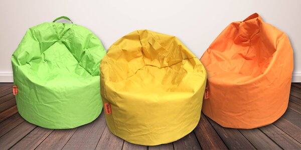 Pohodlné sedací vaky domů i na terasu: 12 barev