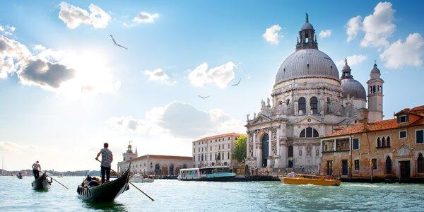 Zájezd do Benátek a Verony s jedním noclehem