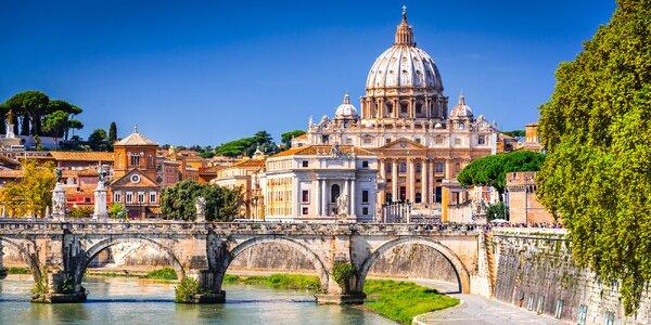 Itálie: Řím, Florencie i Benátky vč. 3 noclehů