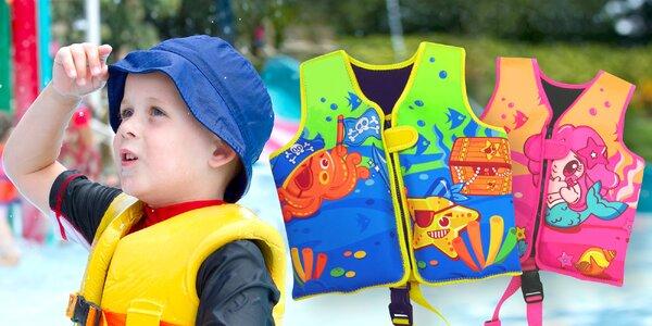 Plavecké neoprénové vesty pro kluky i holky