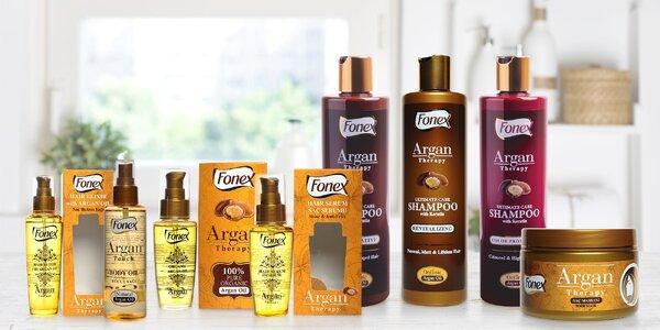 Dárkové balíčky kosmetiky s arganovým olejem