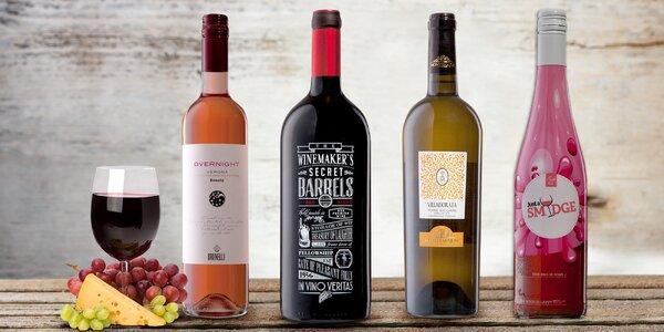 Špičková vína z Itálie, Portugalska i Chile