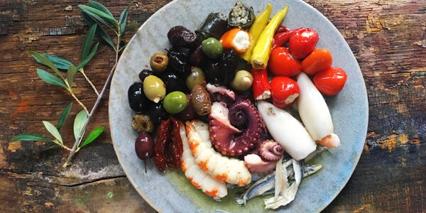 Krabička řeckých delikates a 20% sleva na další