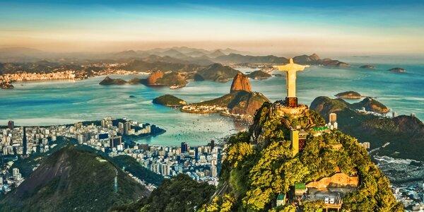 Za krásami Brazílie: záloha na 15denní zájezd