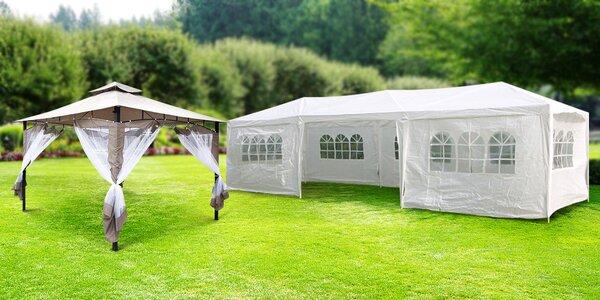 Zahradní stany a altány na svatby i oslavy
