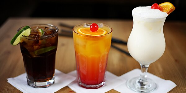Vouchery na drinky dle výběru v centru Prahy