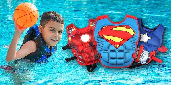 Dětské neoprenové vesty pro nácvik plavání