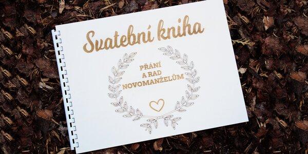 Svatební deníčky, visačky a krabička na přání