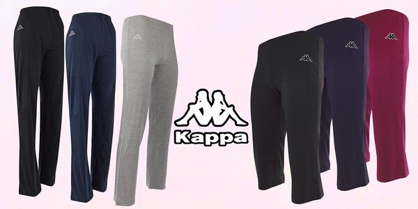 Dámské kalhoty volného střihu značky Kappa